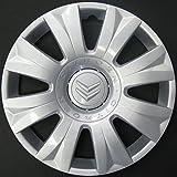 Wheeltrims Set de 4 embellecedores nuevos para Citroen C3 Picasso 2010>/C3 2002>/C4 2010>/C4 Picasso 2006> con Llantas Originales DE 15''