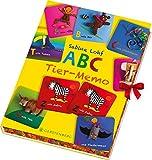 ABC-Tier-Memo: 64 farbige Memokarten in einer Geschenkbox