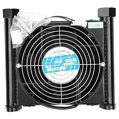 Hilitand Refroidisseur de Radiateur Hydraulique pour Système de Refroidissement Refroidisseur d'air Hydraulique Systèmes d'alimentation de Pression d'Huile (24V)