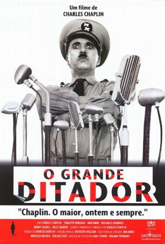 The Great Dictator Affiche du film Poster Movie Le dictateur grand (27 x 40 In - 69cm x 102cm) Brazilian Style B