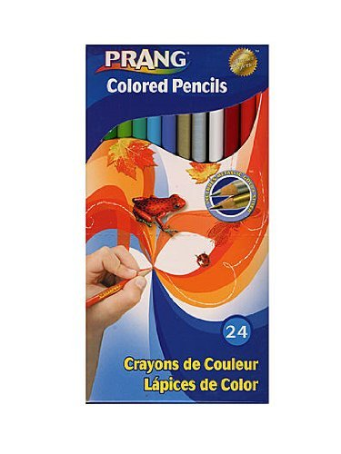 Prang Colored Pencils box of 24 [PACK OF 3 ] by Prang