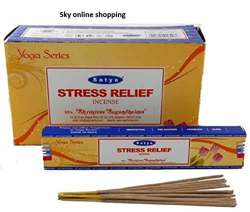 SOS Räucherstäbchen-Set, 15 g, Stress Relief, 2 Packungen -