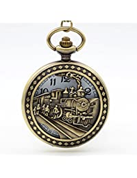 8 : New Fashion IC XC NI KA Badge Quartz Pocket Watch Designer Watches Men Watch Women Analog Pendant Necklace...