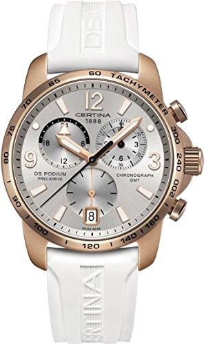 Certina DS Podium GMT Aluminium C001.639.97.037.01 Damenchronograph Aluminiumgehäuse