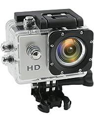 Caméra Sport Caméra Action XAGOO Caméra Embarquée Haute Définition 30M Etanche 170°Grand Angle avec le Boîtier Etanche Supports Multiples