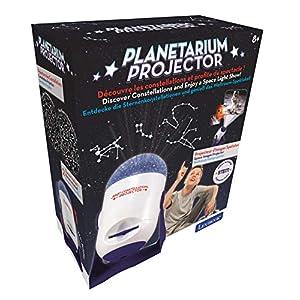 LEXIBOOK rotativo, áng Planetario, Proyector de Constelaciones e imágenes, Estrellas y Planetas, astronomía para niños, ángulo 360º (NLJ150), Color