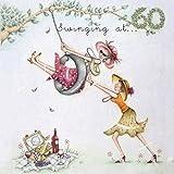 "60th Birthday Card ""Swinging at 60"" (Ladies Who Love Life)"