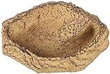 JBL ReptilBar 71082 Futter Trink und Badenapf für Terrarientiere, XS, sand