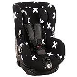Housse de siège auto pour Maxi-Cosi Axiss – noir avec des arcs blancs