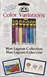 DMC Color Variations Zahnseide, Blau Lagune, 8 Stück