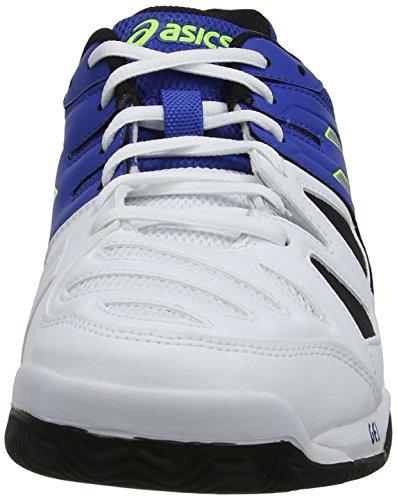 ASICS Gel-Game 5 Clay, Herren Outdoor Fitnessschuhe Blau (Blue/Silver/ Flash Yellow 4293)