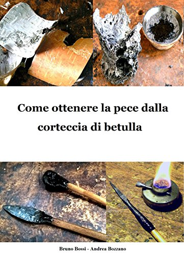 Come ottenere la pece dalla corteccia di betulla (Manuali di Tecniche Medievali Vol. 6) (Italian Edition)