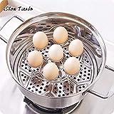 Fiesta Eierpochierer Edelstahl Eier Dampfgarer Rack für Schnellkochtopf, Küchenutensilien, Ei, Dampf, Kühlregal, Topfständer: China