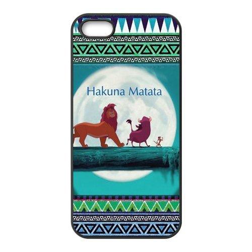 Housse Coque pour iPhone 5S, The Lion King Designs Back Case Cover For Apple iPhone 55S, Apple iPhone 55shülle Étui Coque Case Cover