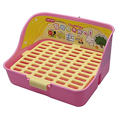 MMBOX Rabbit Cage Litter Box Easy to Clean Potty Trainer for for Small Animal/rabbit/guinea Pig/ferret by MMBOX
