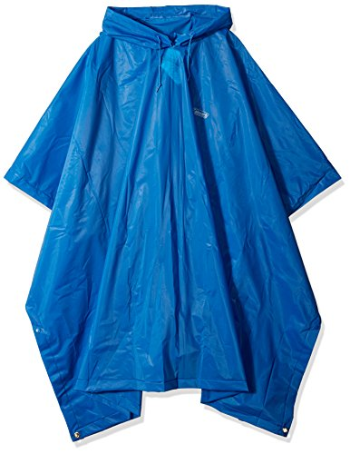 COLEMAN COMPANY - Rain Poncho, Adult, Blue (Coleman Poncho)