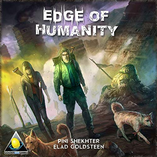 Golden Egg Games GEG1004 Edge of Humanity, Mehrfarbig - Egg Games Golden