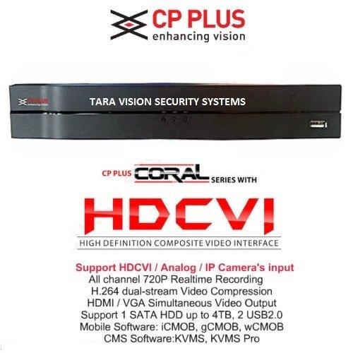 Taravision Cp Plus Coral Hdcvi 16 Channel Hd Dvr