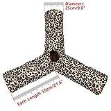 Pawz Road Luxus Katzentunnel im Leoparden-Design, 55*25 cm - 2