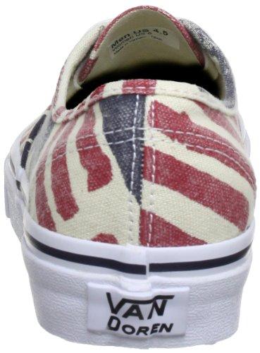 Vans U AUTHENTIC VSCQ7SS Unisex-Erwachsene Sneaker Mehrfarbig (Van Doren) ret)