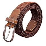 KINDOYO Cintura intrecciata elastica Per uomini e donne Colori multipli