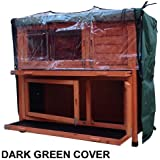 FeelGoodUK RABBIT HUTCH COVER ONLY FOR RHL (DARK GREEN)