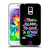 Head Case Designs Schick Frechkeit Soft Gel Hülle für Samsung Galaxy S5 Mini