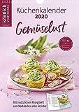 köstlich vegetarisch - Jubiläums-Küchenkalender 2020: Gemüselust