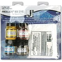 Jacquard Procion quattro colori Set W/Soda Ash-