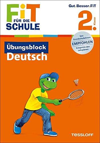 Download Fit für die Schule: Übungsblock Deutsch. 2. Klasse