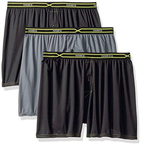 Hanes Men's Boxer Shorts Pack of 3