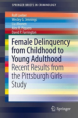 Female Delinquency From Childhood To Young Adulthood: Recent Results from the Pittsburgh Girls Study (SpringerBriefs in Criminology)