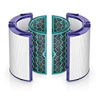 Dyson Replacement (TP04/DP04) Pure Cool Sealed Two Stage 360 Filter System, Purple/Teal