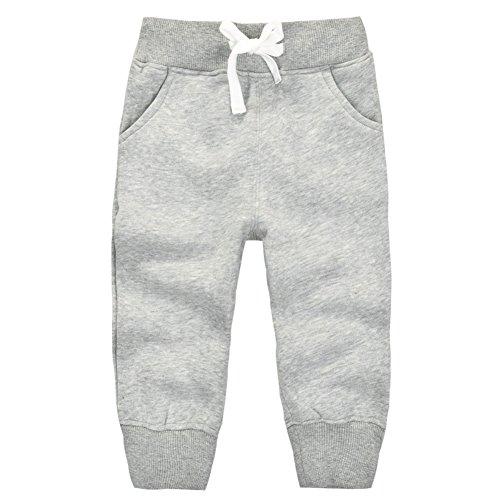 Casa Kinder Jungen Hosen Long Pants , Unisex Baby Baumwoll Elastische Taille Kinder Jogginghose Freizeit Sport Hose