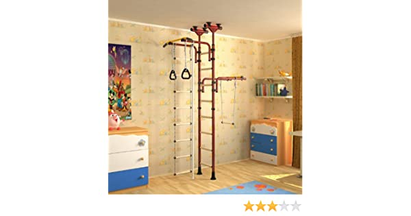 Klettergerüst Kinderzimmer : Indoor klettergerüst für kinder sprossenwand kinderturngerät