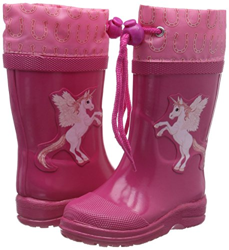 beck mädchen unicorn pink