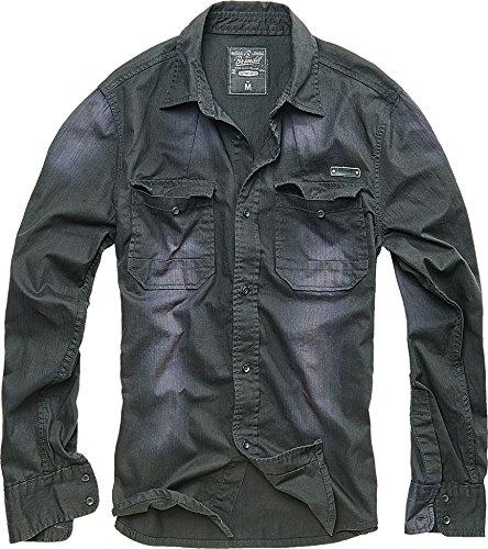 brandit-hardee-denim-camicia-nero-taglia-m