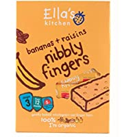 Ella's Kitchen | Nibbly Fingers Banana/Raisin | 6 x 5 x 25g