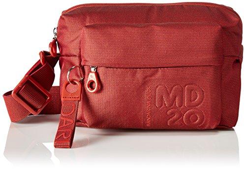 Mandarina Duck - Md20 Tracolla, Borse a spalla Donna Rosso (Tomato)