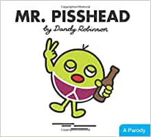 Mr Men Pisshead Mugs Funny Birthday Christmas Gift Present Rude