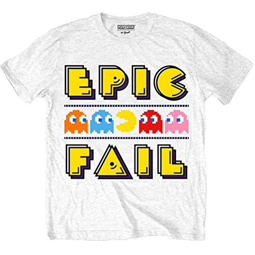 Men's Pac-Man Epic Fail T-Shirt - S to XL