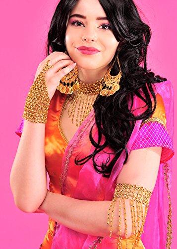 Bollywood-Stil Gold Perlen Arm (Bollywood Fancy Dress Outfits)