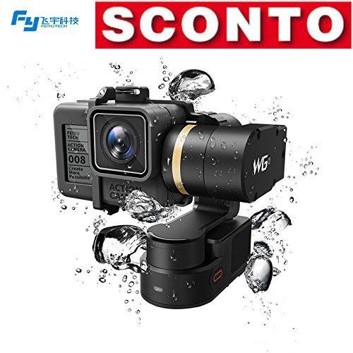 Feiyu-WG2-3-Axis-impermeabile-IP67-con-Gimbal-al-compatibile-con-GoPro-HERO5-HERO4-Session-AEE-SJCam-e-altro-Action-Camera