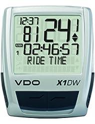 Vdo X1 DW cycle - Ciclocomputador de ciclismo, color plateado / negro