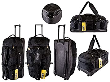 NEW ORIGINAL JCB EXTRA LARGE WHEELED TROLLY BAG HOLDALL: Amazon.co ...