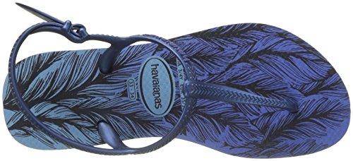 Havaianas Sandales Femme Freedom Print Bleu (Lavender Blue)