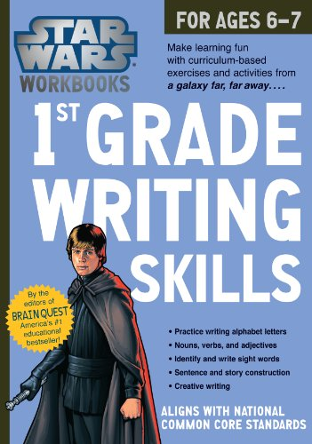 1st Grade Writing Skills (Star Wars Workbooks)