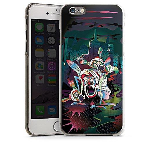 Apple iPhone 5s Housse Étui Protection Coque monstres effrayants Créature légendaire Imagination CasDur transparent