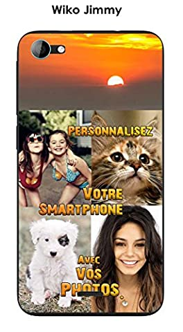 Coque personnalisee Wiko Jimmy - avec VOS photos.