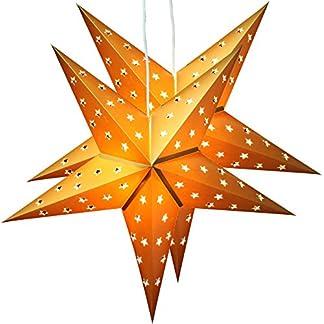 2er-Pack-BRUBAKER-Falt-Weihnachtssterne-mit-je-10-LED-60-cm-